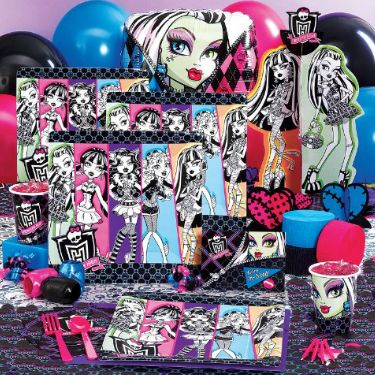 7 Best Summer S Monster High Party Images On Pinterest 7th