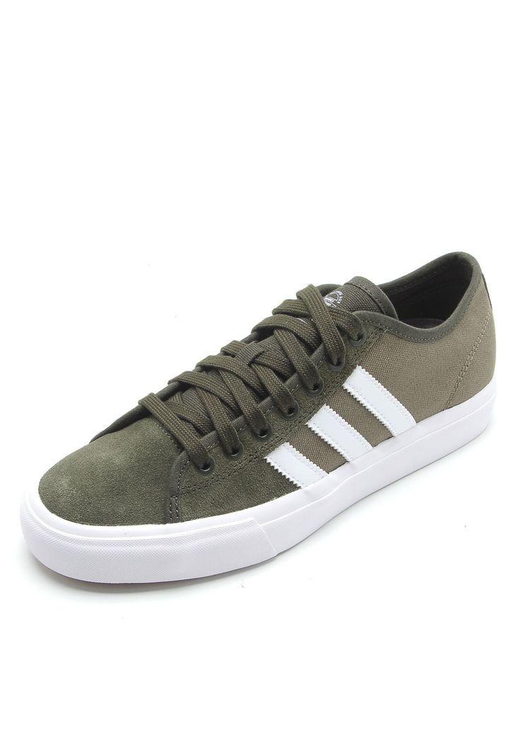 Tênis adidas Skateboarding Matchcourt Rx Verde   Adidas