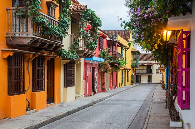 Colorful Cartagena in SPAIN
