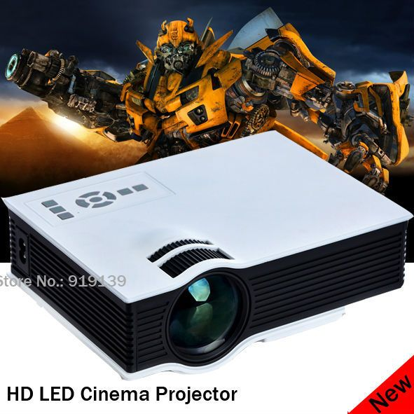 Bravo HDMI USB Projector Built In Speaker Good Image Quality Proyector For Home Cinema Projecteur 3D LED Beamer Spanish Language