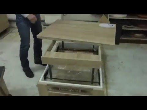 Тест драйв столов 3 журнальных (общее сравнение)трансформеров - YouTube