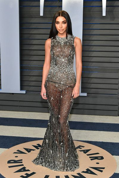 Chantel Jeffries attends the 2018 Vanity Fair Oscar Party hosted by Radhika Jones at Wallis Annenberg Center for the Performing Arts on March 4, 2018 in Beverly Hills, California.