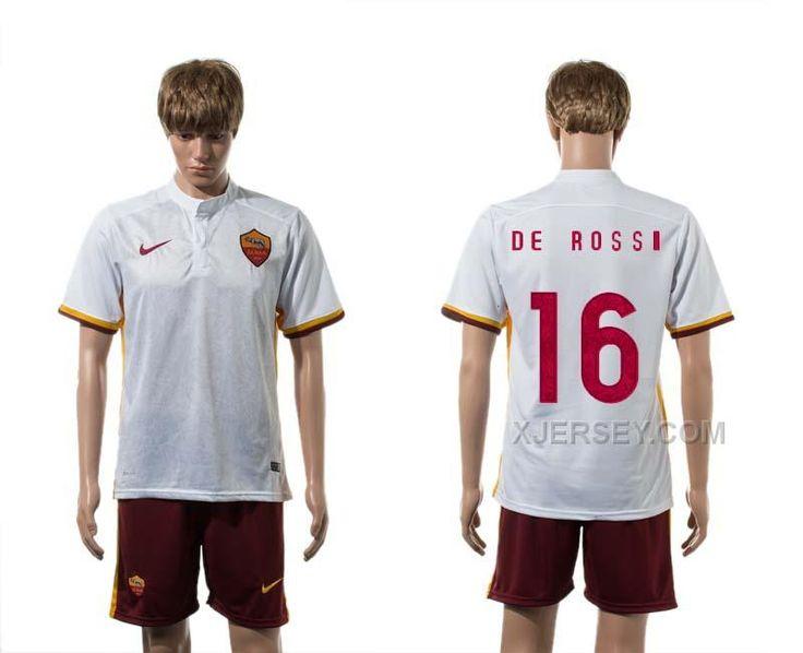 http://www.xjersey.com/201516-rome-16-de-rossi-away-jersey.html 2015-16 ROME 16 DE ROSSI AWAY JERSEY Only $35.00 , Free Shipping!
