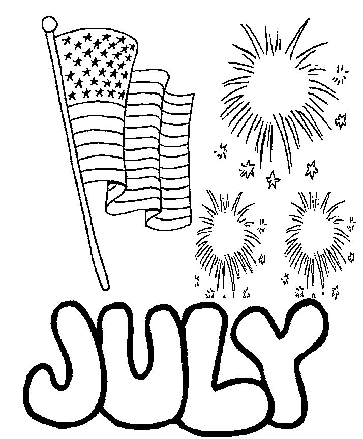 July 4th coloring pages printable ~ 106 best 4th Of July Coloring Pages images on Pinterest ...