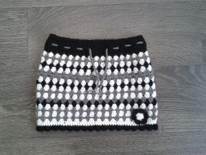 Gehaakt rokje, crochet skirt