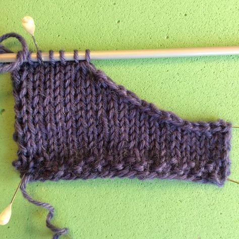 Netop hjemvendt fra Tisvilde Højskole og Strikkestafet, må jeg lige sætte lidt strikketeknik på bloggen, og dele en langt flottere aflukning...