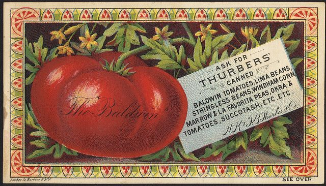Boston Public Library: Food Trade Cards