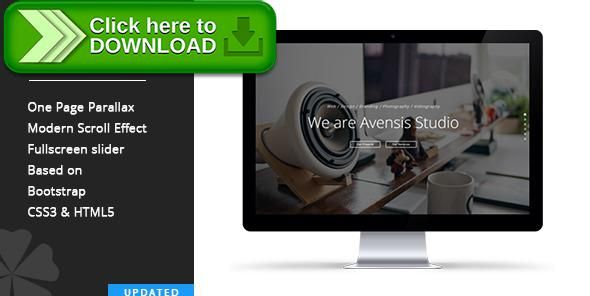 [ThemeForest]Free nulled download Avensis - One Page Responsive Parallax Template from http://zippyfile.download/f.php?id=2855 Tags: agency, contact form, html, modern, one page, onepage, parallax, portfolio, responsive, scroll, template