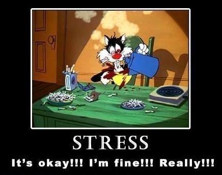 Stress Loony Toons Style