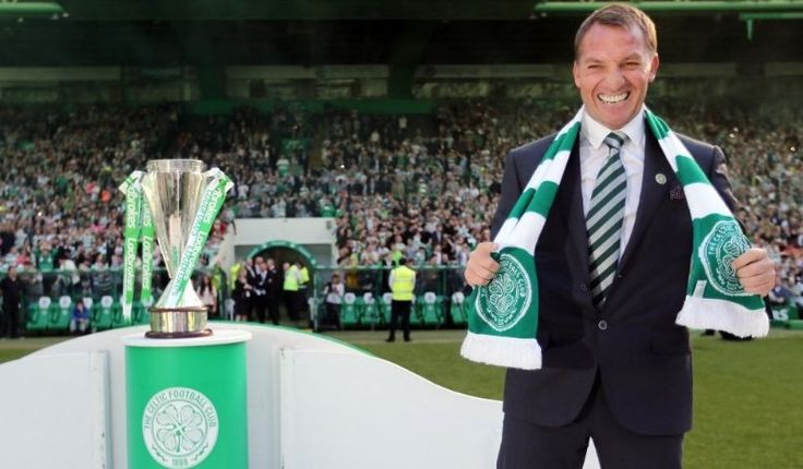 awesome Celtic boss Brendan Rodgers celebrates 1st career title after being named possible Arsenal manager by Gunners legend Check more at https://epeak.info/2017/04/03/celtic-boss-brendan-rodgers-celebrates-1st-career-title-after-being-named-possible-arsenal-manager-by-gunners-legend/