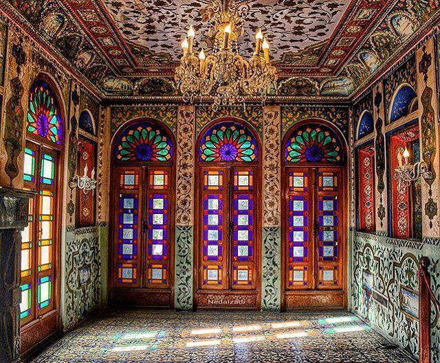 Beautiful and stunning Iranian architecture - Golestan Palace, Tehran, Iran (Persian: معماری خیره کننده و زیبای کاخ گلستان - تهران ) Credit: Neda.Izadi