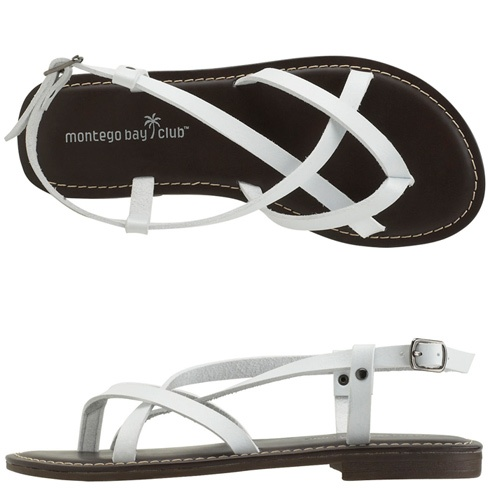These kind of straps always seem to offer me the most comfort in a sandal.