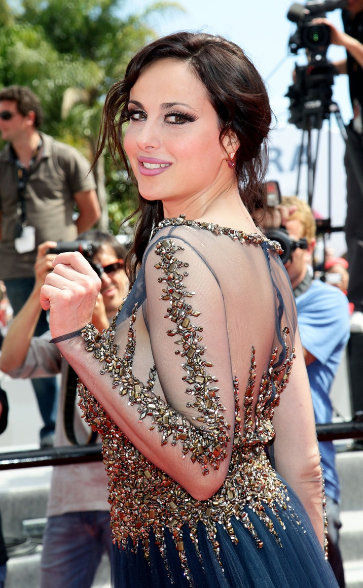 Isabelle Adriani, Cannes 2012 - http://itsallstyletome.com/2012/05/23/day-8-festival-de-cannes-2012/