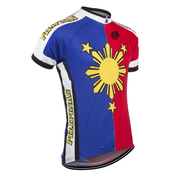 Pilipinas Philippines Cycling Jersey-Online Cycling Gear #cyclegear