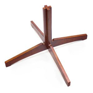 Valentino Collapsible Flute Stand - Wood