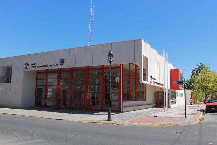 Fire Station 2 Compañia de Bomberos de Talca, Chile