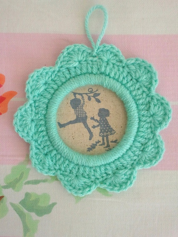 baby to go on Etsy. Adorable crochet ornament