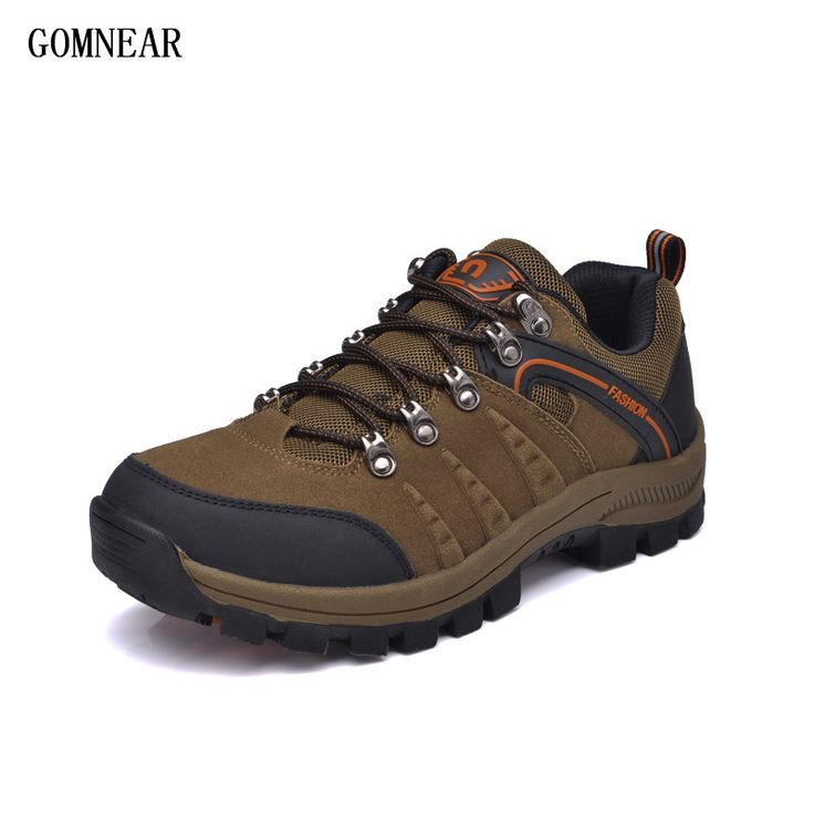 GOMNEAR 2017 New Summer Outdoor Men's Hiking Shoes Men's Climbing boots Men  Breathable Trekking Shoes Men