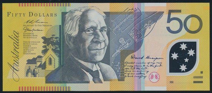 Australian Banknotes Specimen Notes 50 Macfarlane Evans 19 99 Serial Bk 99 000000 Specimen R 518cs Very Rare P Bank Notes Dollar Note Australian Money