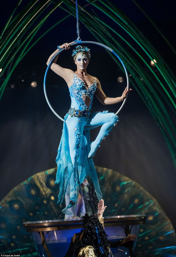 Amaluna, which has never before been seen in the UK, tells the story of