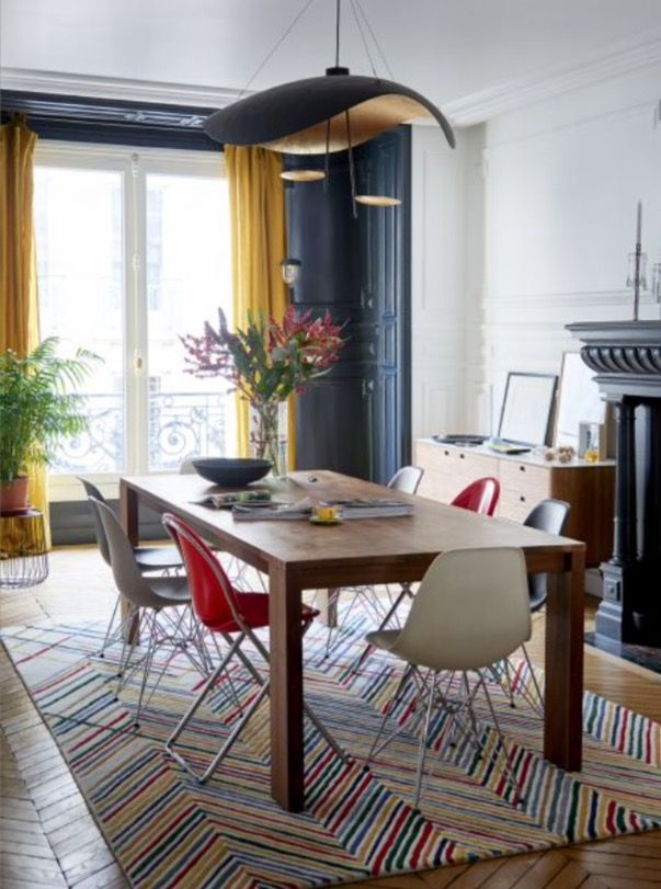 """This nice dining room is from our feature """"French Fancy"""""""