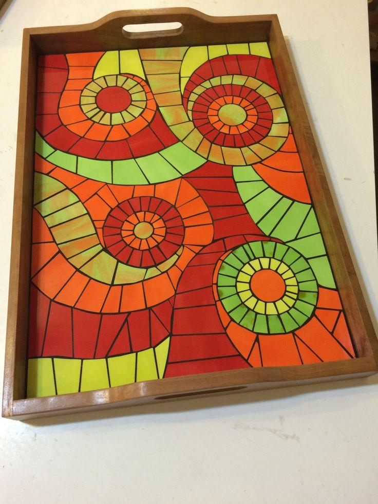 bandeja mosaic ideasmosaic