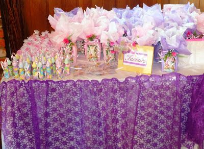 Christening / Baptism Favors Table