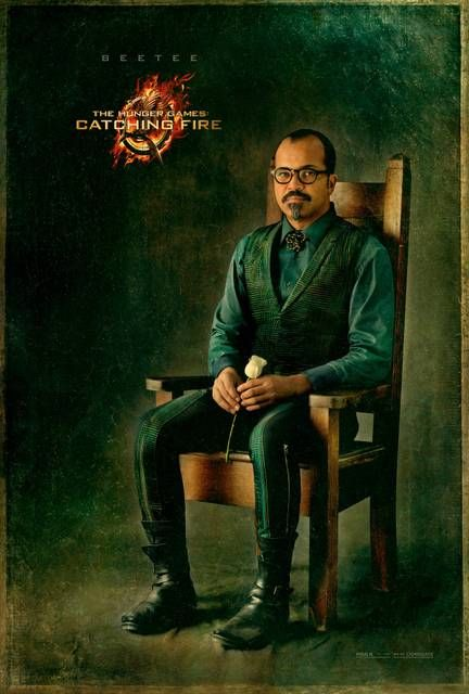 The Hunger Games: Catching Fire - New character poster for Jena Malone and Jeffrey Wright