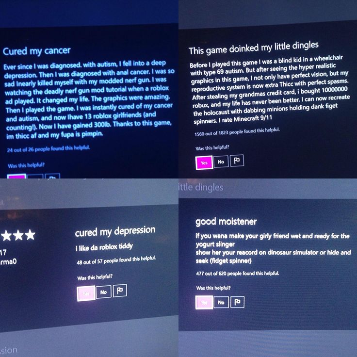 Some extremely helpful reviews for anyone looking to play Roblox on Xbox