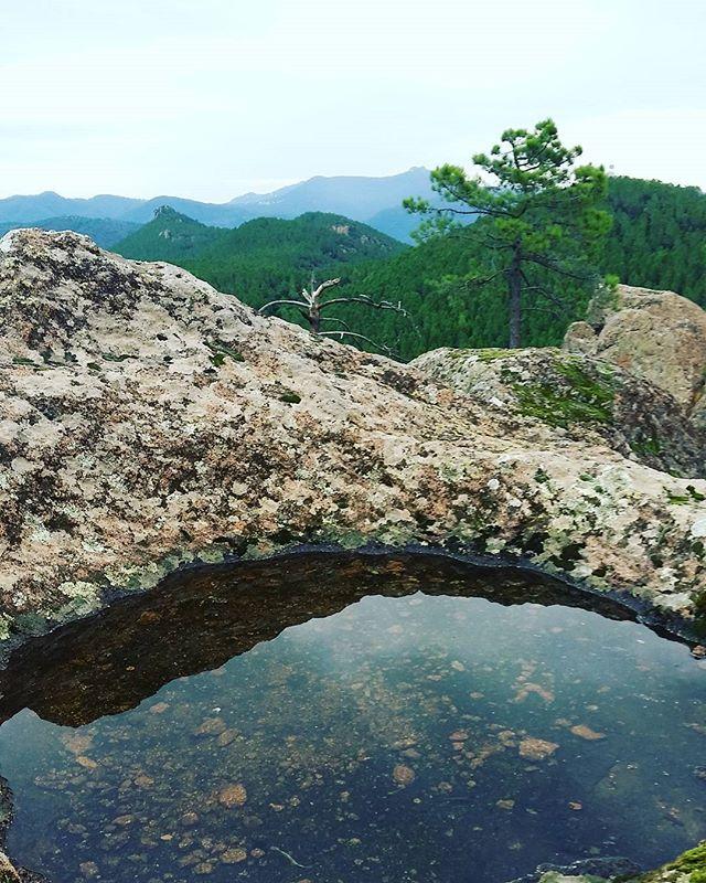 Anciennes Tailleries de Meules #randonnée #walking #nature #reflection #reflet…
