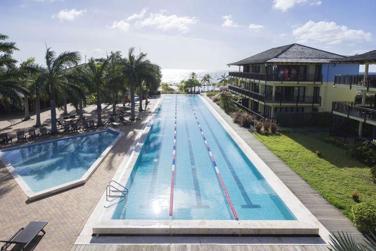 Für sportliche Gäste, der Pool im Lions Dive & Beach Resort: http://bit.ly/1TH2KgF