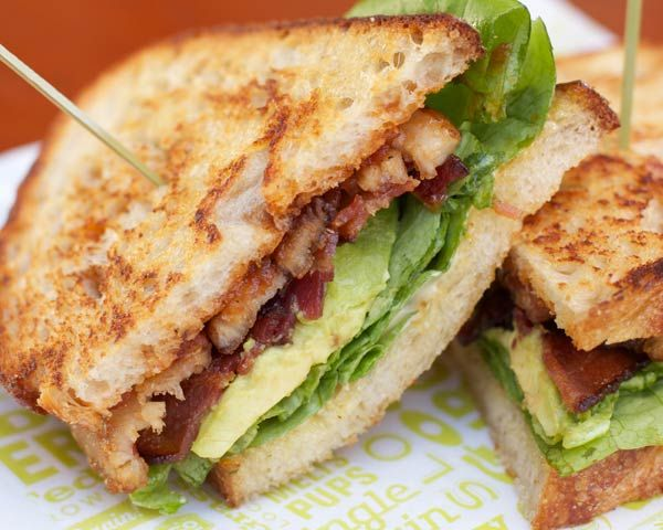 For some of us, there's nothing like a fresh BLT sitting poolside during the summer. That is until we came across this recipe, swapping bacon out for one of its pork cousins: pork belly. Make the pork belly on a cold and rainy summer day and keep it in the fridge for your summertime picnics.