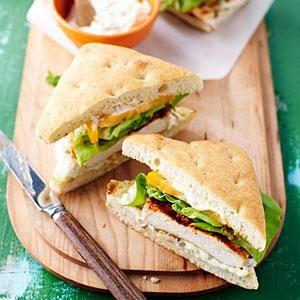 Spicy Grilled Chicken Sandwiches | MyRecipes.com