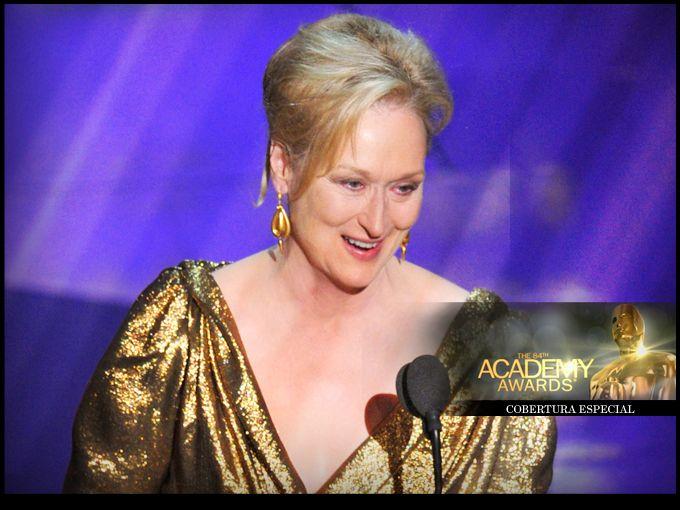 Meryl Streep ganó el tercer Oscar de su carrera en la entrega número 84 de los Premios de la Academia, por su papel en La Dama de Hierro.  Con un discurso conmovedor y un toque de comicidad, Streep agradeció el premio recibido.  La afamada actriz tiene el record de nominaciones a los Premios de la Academia con diecisiete nominaciones, siendo la primera en 1978 por el filme The Deer Hunter.