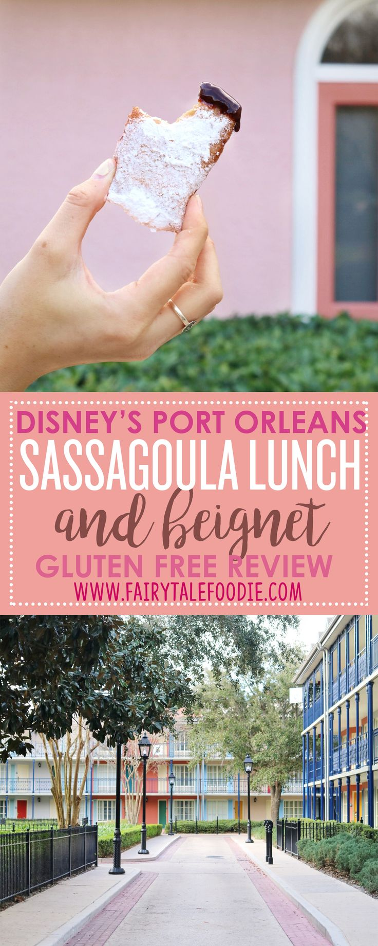 Sassagoula Food Factory at Walt Disney World's Port Orleans Resort Quick Service and BEIGNET Gluten Free Dining Review by FairytaleFoodie.com  . Disney Dining I Disney Vacation Tips I Disney Gluten Free I Disney Food
