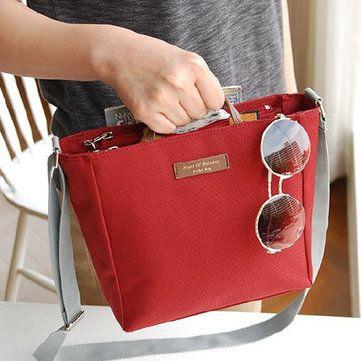 Multifunctional Waterproof Oxford Cloth Lightweight Outdoor Travel Handbag Shoulder Bag Storage Bag - Newchic Mobile.