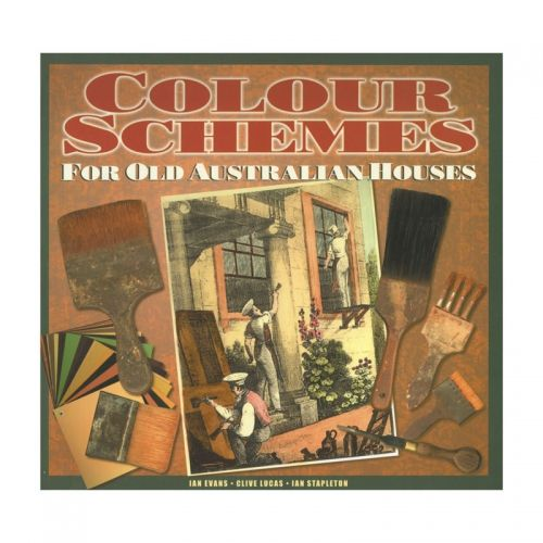 Colour Schemes for Old Australia Homes: By Ian Evans, Clive Lucas and Ian Stapleton Avoid expensive mistakes and get it right the first time with the help of this useful guide to colour schemes for period homes built between 1820 and 1940. The book includes exterior and interior schemes, stencil patterns and suggested wallpaper designs. Used by homeowners, painters and decorators as the authority on getting your colour schemes right. $39.95