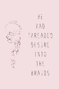 I want a boy that can braid my hair!