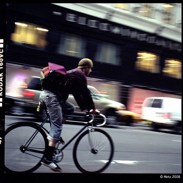 Is it weird that I'd love to be a  bike messenger?