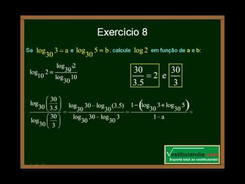Matemática - Aula 13 - Logaritmo - Parte 4 - Final - YouTube