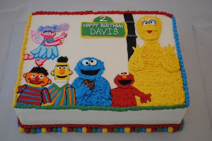 sesame+street+cakes | Sesame Street Cake