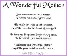 Missing My Mother Prayer Poem   mother a mother just like you a second mum