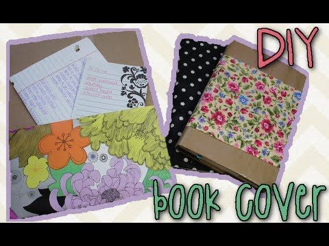 DIY Book Cover - Protect and Decorate Your Books!