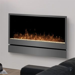 Dimplex Inspiration Wall Mount Electric Fireplace DWF36PG at ElectricFireplacesDirect.com