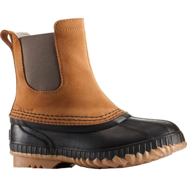Sorel Kids' Cheyanne II Chelsea 200g Waterproof Winter Boots, Brown