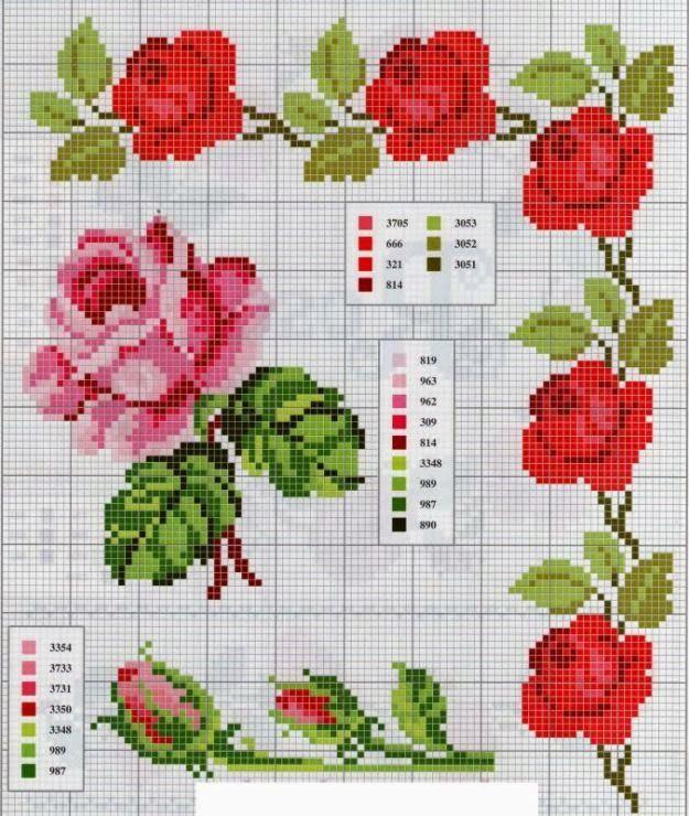 La huertanica sevillana: Rosas, las flores del amor...
