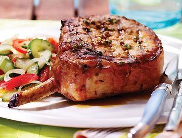 Côtelettes de porc Nagano, sauce ponzu sur Wikibouffe
