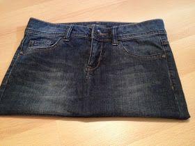 made by Alex: Tasche aus einer Jeans – Tutorial