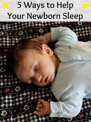 Some tips for new moms to help get their babies to sleep.
