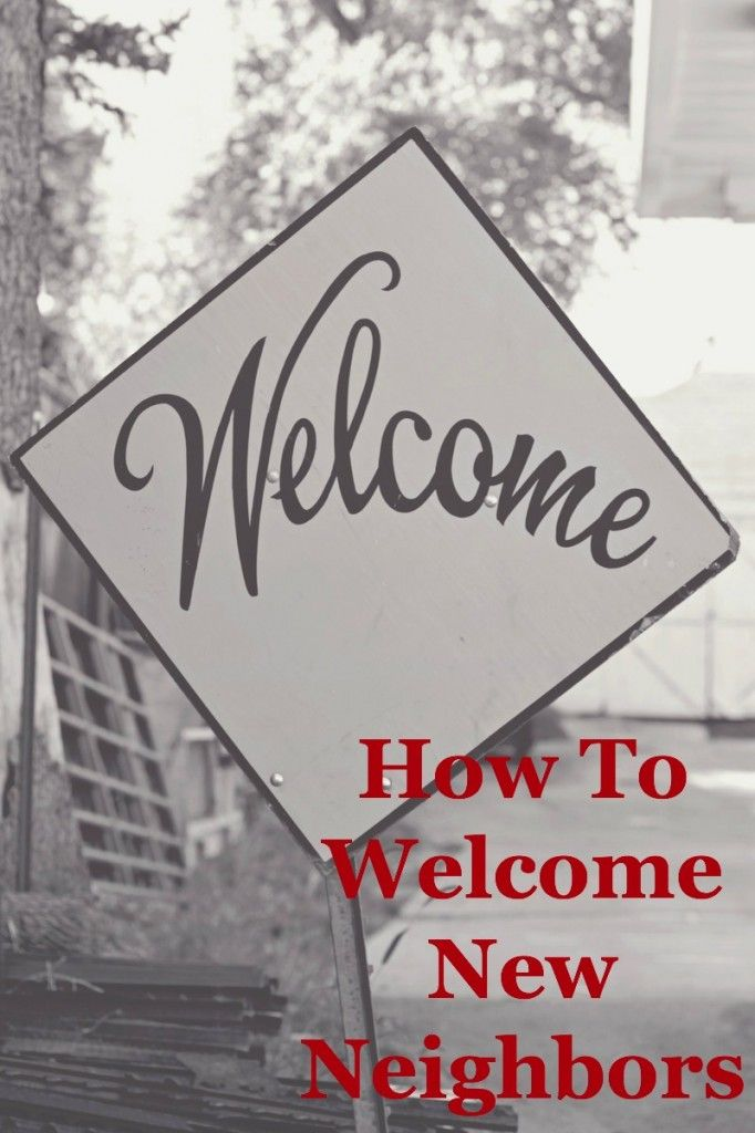 How To Welcome New Neighbors {printable} | 31 Days of Outrageous Hospitality with Kristin Schell